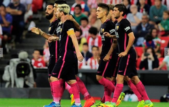 Barca squad