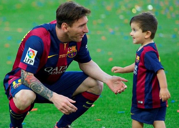 Messi's Son Thiago