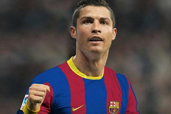 Ronaldo is Barca