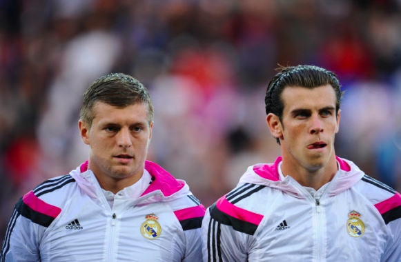 Toni Kroos & Bale
