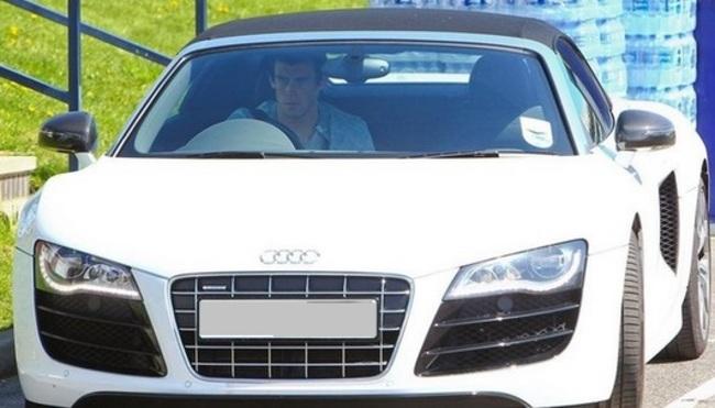 Audi car of Gareth bale