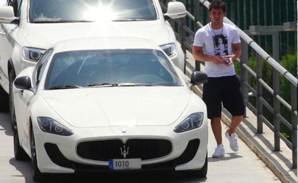 messi's car