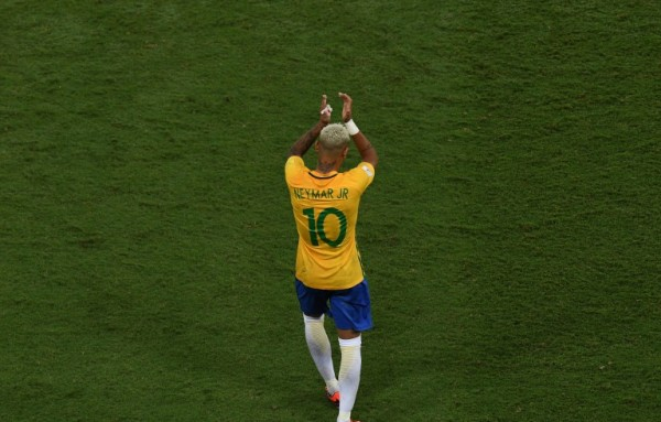 Neymar at BRA