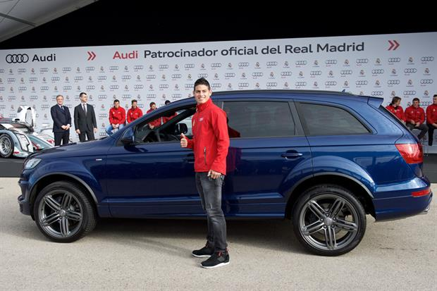 car of James Rodriguez