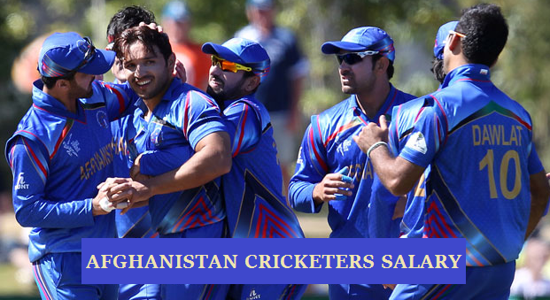 Afghanistan cricketers salary