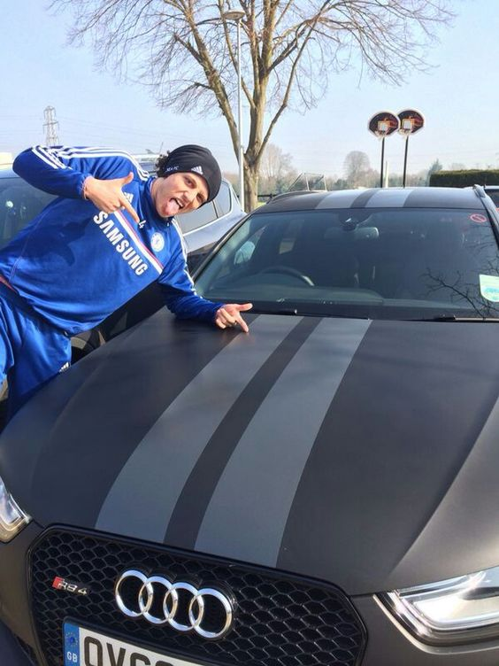 David Luiz car