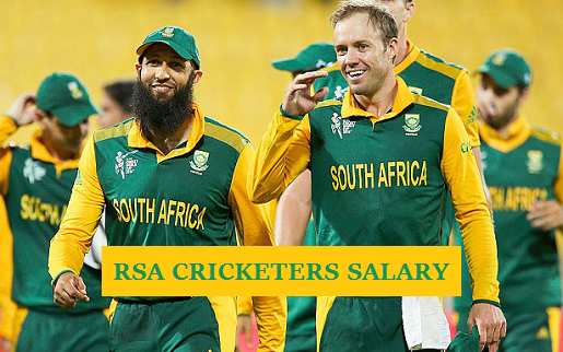 South African cricketers salary