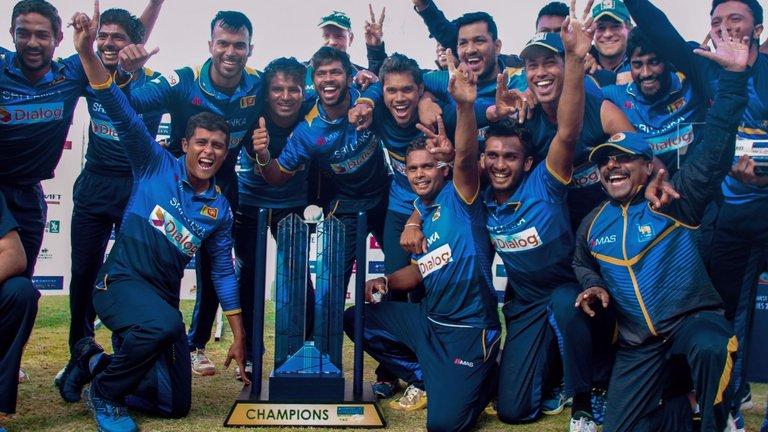 Sri Lanka win tri series