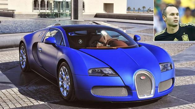 car of Iniesta