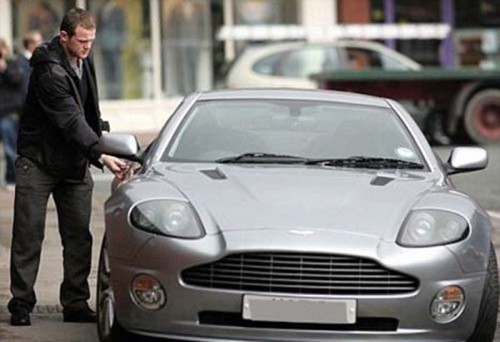 car of rooney