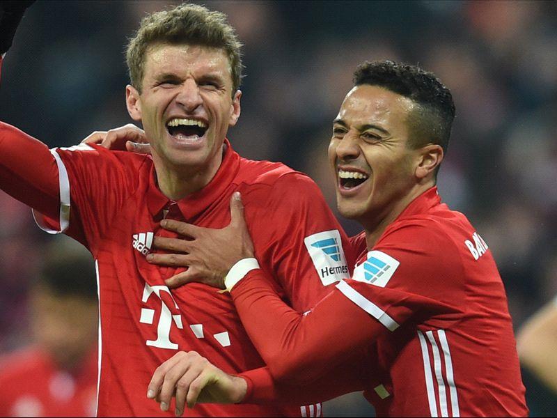 Bayern won