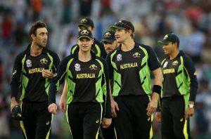 Australia Team Squad Released for upcoming test series against India [2017]
