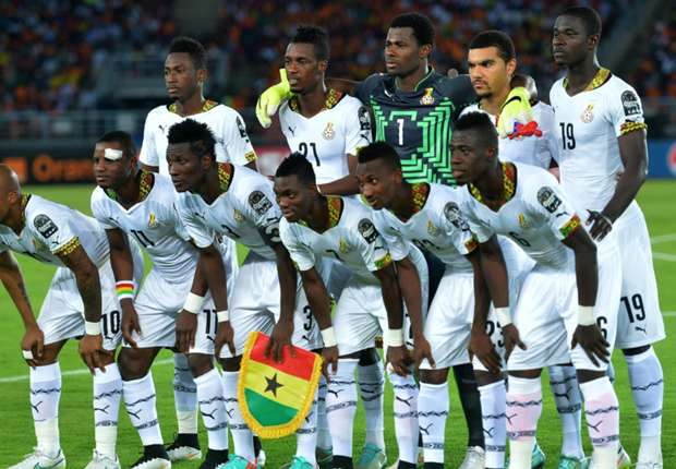 Ghana football team in AFCON