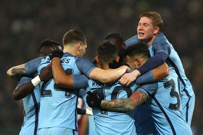 Man City thrashed West Ham