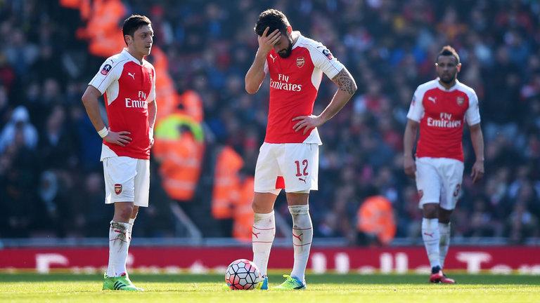 Arsenal 1 - 2 Watford