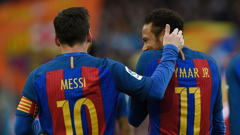 Barca winning
