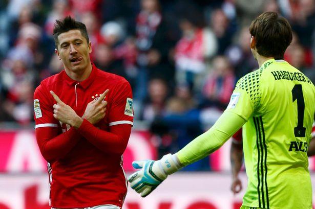 Bayern 8 - 0 Hamburg