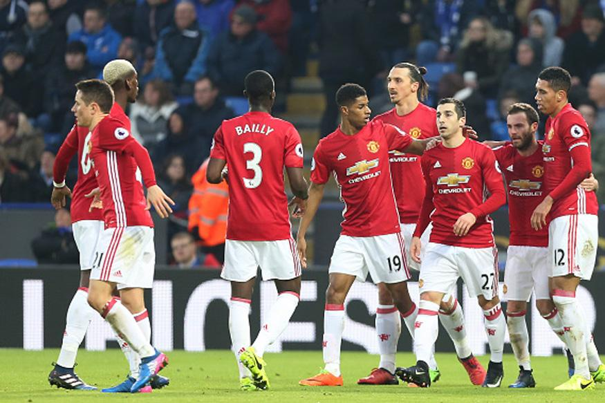 Man Utd 3 - 0 Leicester city