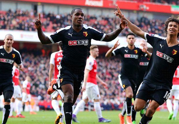 Watford 2 - 1 Arsenal