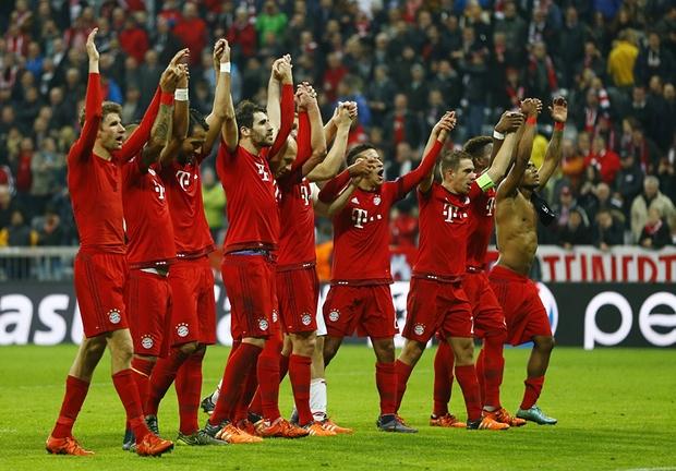 Bayern thrash Arsenal