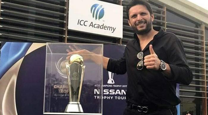 Champions trophy Ambassador Afridi