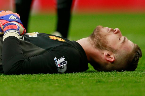 David De Gea injured