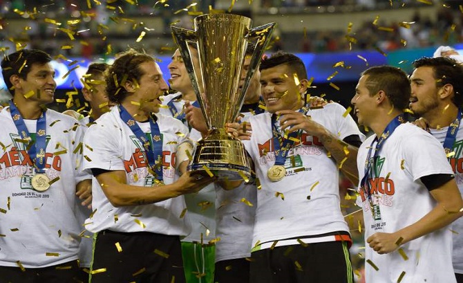 CONCACAF Gold cup All Past Cha...