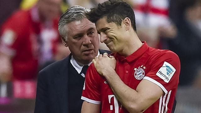 Lewandowski injured