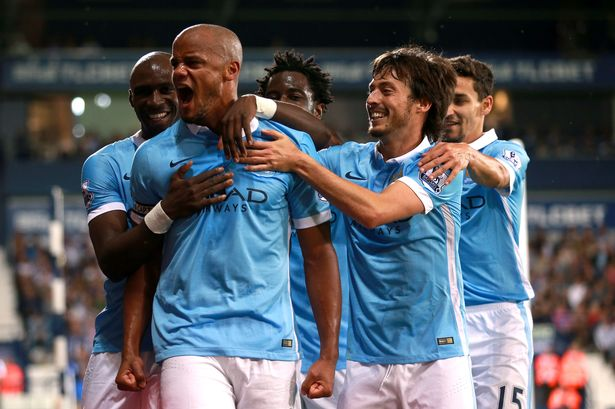 Vincent Kompany first goal