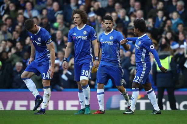 Chelsea Vs West Brom 1 - 0