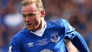 Wayne Rooney at Everton