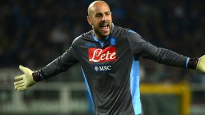 PSG tabled €7m offer for Napoli goalkeeper Pepe Reina