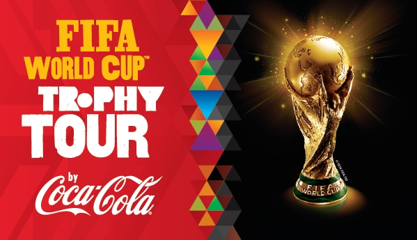 FIFA world cup 2018 Trophy tour by Coca Cola
