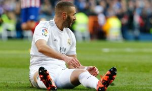 France striker Karim Benzema is suffering from a Hamstring injury