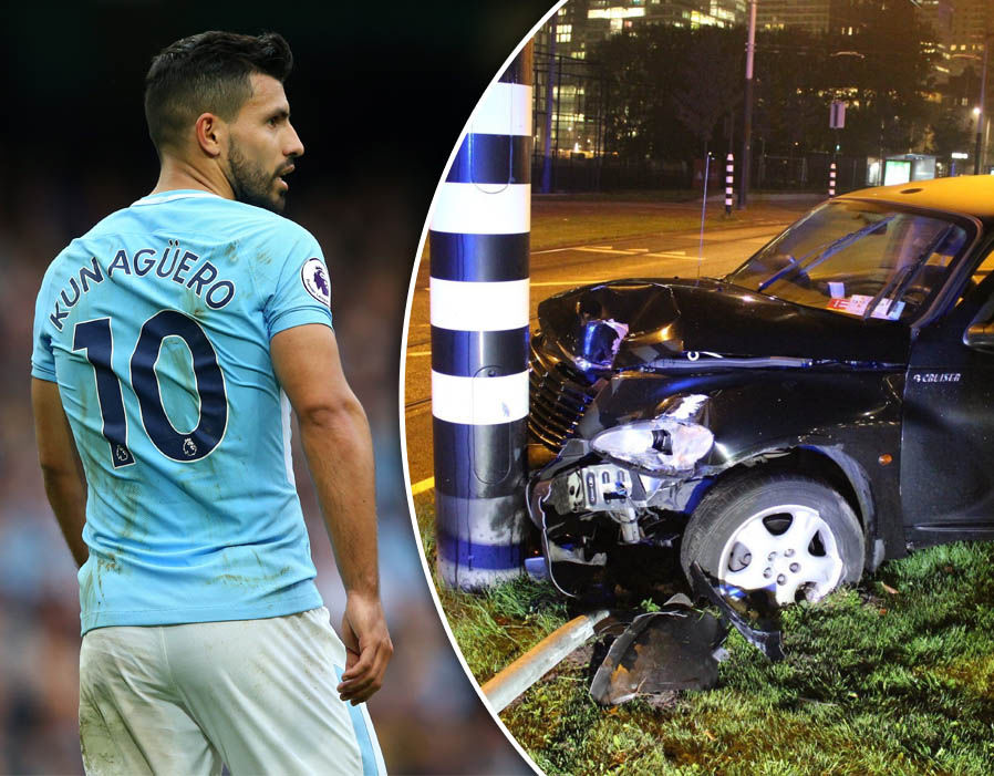 Aguero car accident