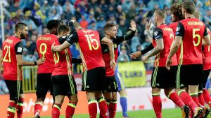 Belgium possible squad for World Cup 2018 in Russia