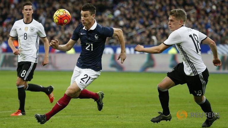 Germany Vs France friendly