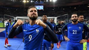 France possible squad for the World Cup 2018
