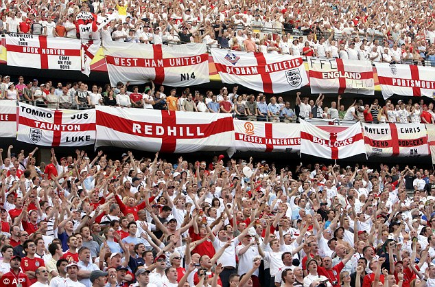 England flag in World cup