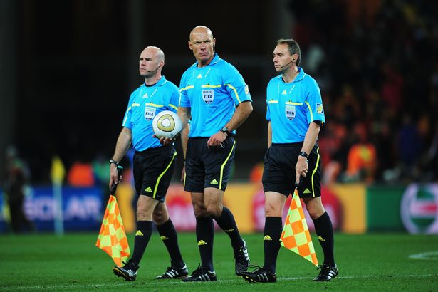 FIFA world cup 2018 Referee