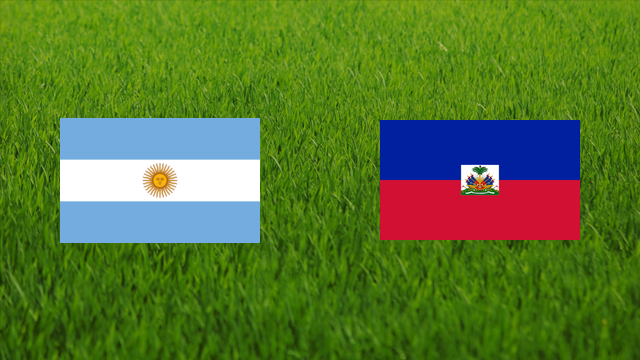 Argentina Vs Haiti Warm-up Match Highlights
