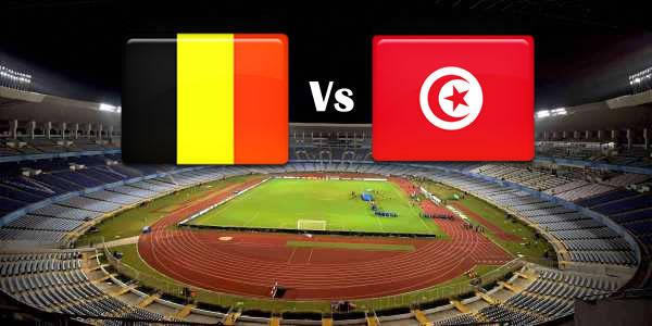 Belgium Vs Tunisia world cup 2018