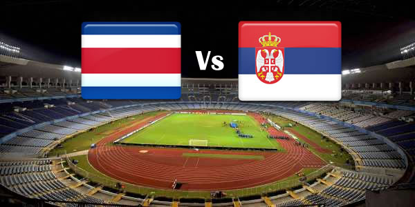 Costa Rica Vs Serbia in World cup 2018