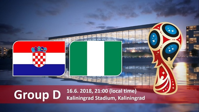 Croatia Vs Nigeria World cup 2018