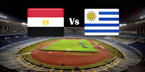 Egypt Vs Uruguay in World cup