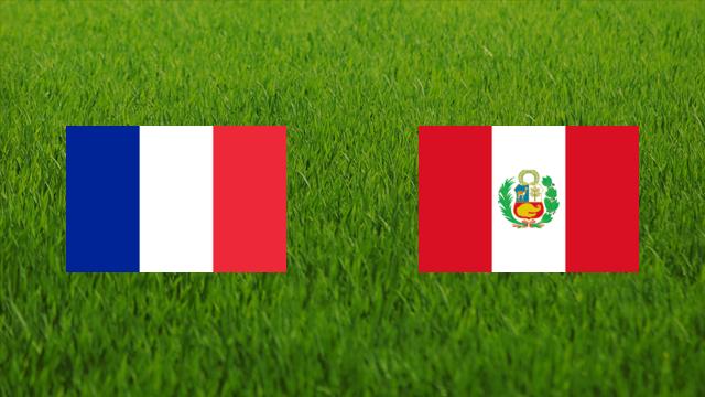France Vs Peru world cup 2018