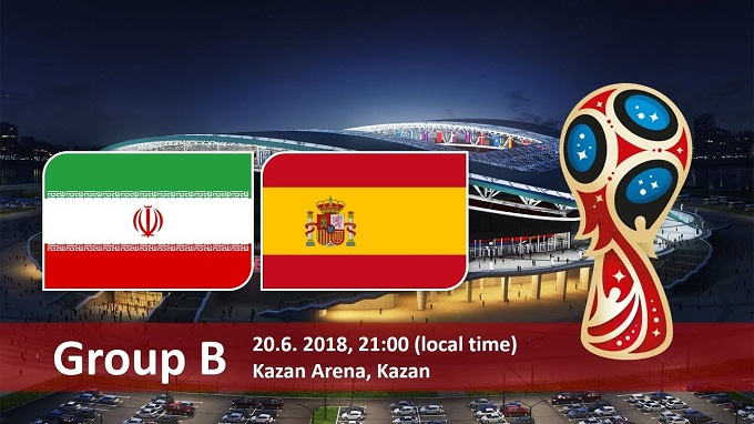 Iran Vs Spain FIFA world cup 2018