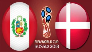 Peru Vs Denmark World cup 2018