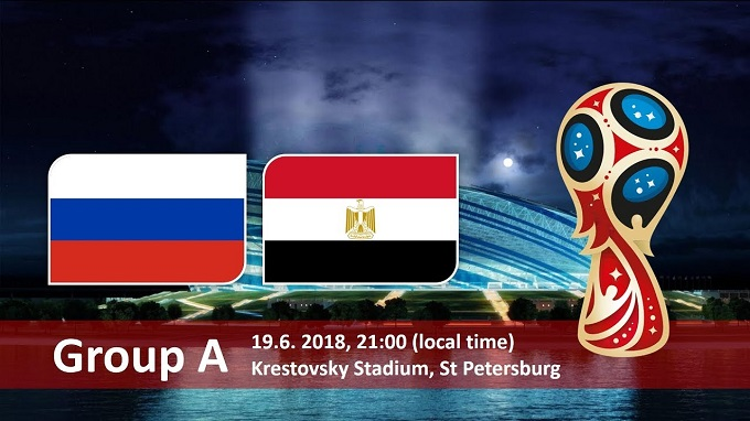 Russia Vs Egypt World cup 2018