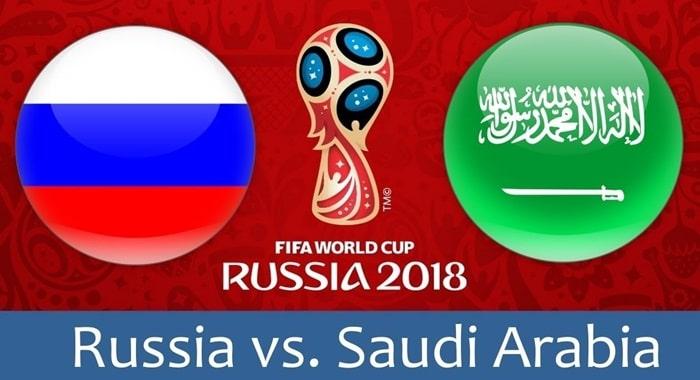 Russia Vs Saudi Arabia live stream